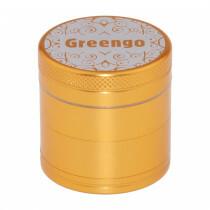 Greengo Grinder 4 Parts 40 Mm Gold