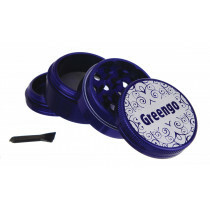 Greengo Grinder 4 Parts 50 Mm Blue
