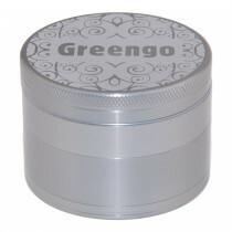 Greengo Grinder 4 Parts 63 Mm Silver