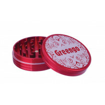 Greengo Grinder 2 Parts 63 Mm Red