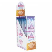 Display True Hemp Blunt Wraps Sticky Gelato 25X2 Pcs