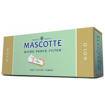 Mascotte Gold Filter Box 200 Tubes 1Pc