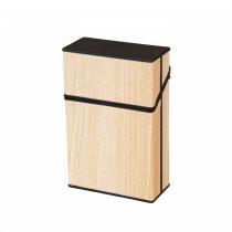 Cigarette Box 20 Cig Acryl Cremewood