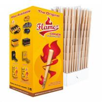 Flamez Cones Unbleached 98/26Mm 800 Pcs