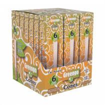 Greengo Cones 1 1/4 26Mm 6 Pack 21 Pcs
