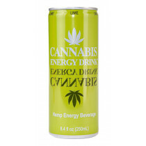 Can Cannabis Energy Drink Lime 1 Pc