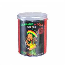 Cannabis Cola Lollipop Box  1 X 10 Pcs
