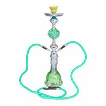 Shisha W 625 Green Atlas 56 Cm 2 Hose