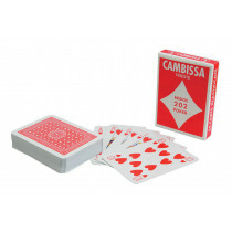 Cambissa Playing Cards Red 1 Pack