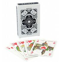 Katja playing cards black