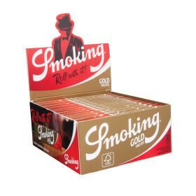 Smoking gold king size slim 50 pcs