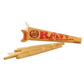 Raw 1 1/4 Cones Basic 6 Pack  1 Pc
