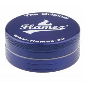 Flamez grinder 2 parts 50 mm blue