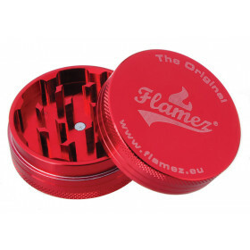 Flamez grinder 2 parts 50 mm red
