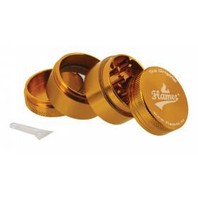 Flamez grinder 4 parts 40 mm gold
