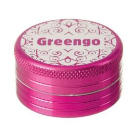Greengo Grinder 2 Parts 40 Mm Pink