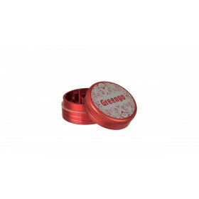Greengo Grinder 2 Parts 40 Mm Red