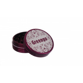 Greengo Grinder 2 Parts 50 Mm Purple