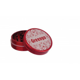 Greengo Grinder 2 Parts 50 Mm Red