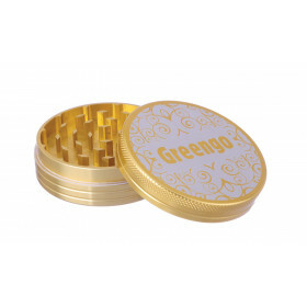 Greengo Grinder 2 Parts 63 Mm Gold