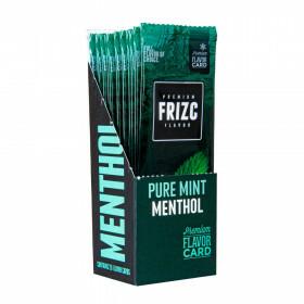 Display Frizc Flavor Card Pure Mint Menthol 25 Pcs