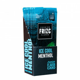 Display Frizc Flavor Card Ice Cool Menthol 25 Pcs