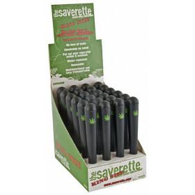 Display saverette kingsize leaf 110 mm 24 pcs