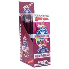 Display Hemparillo Hemp Blunts Berries 15X4 Pcs