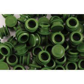 Caps for joint tube soft and straight  green( 500 pcs.)