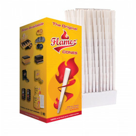 Flamez Cones 109/21Mm With Logo On Tip No Embossing 1000Pcs