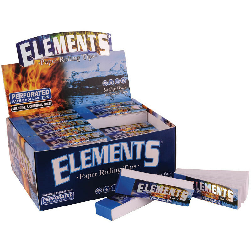 Elements Filter Tips Perforated (Box/50)