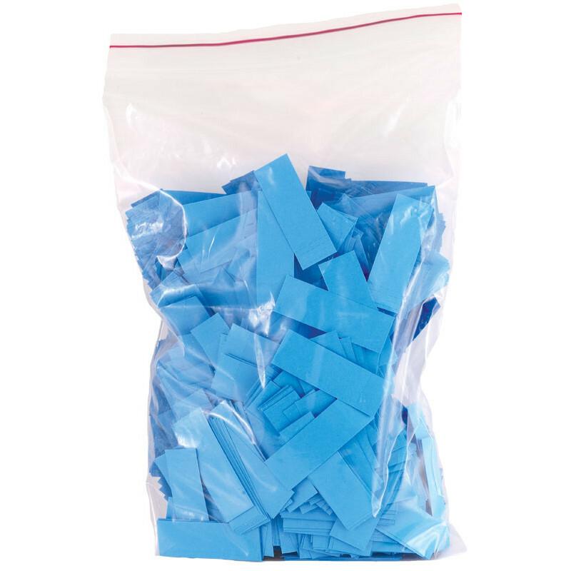 Bag colored paper tips blue2000pcs