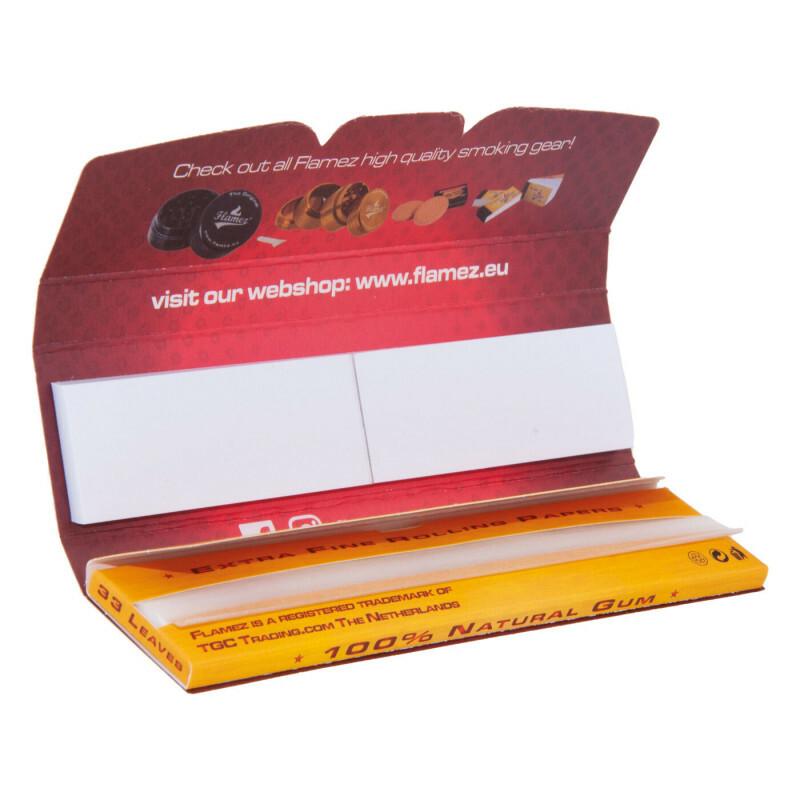 Flamez kingsize slim two in one 1 pack