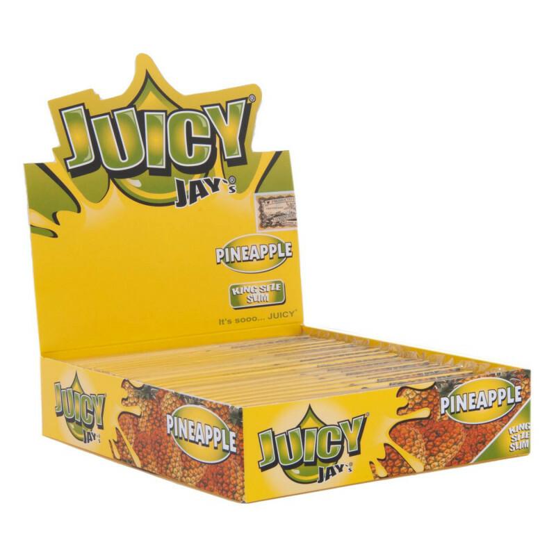 Juicy jay's pineapple kss (box/24)