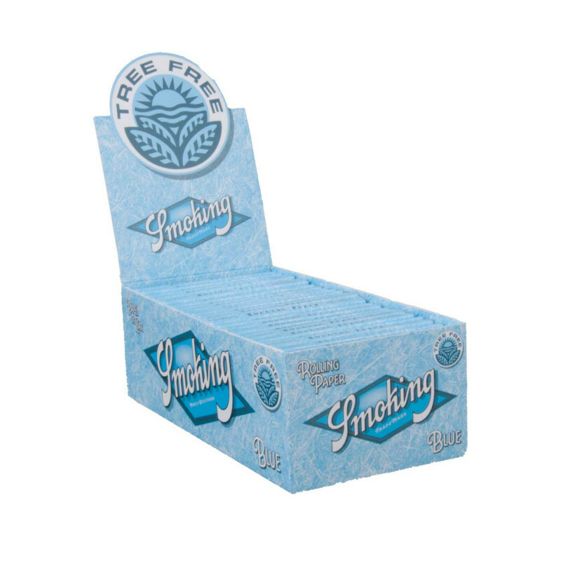 Display smoking short blue tree free 50 pcs