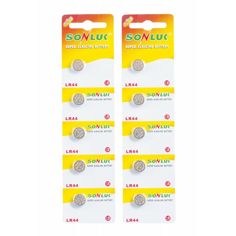 Batteries lr44 (5 pack)