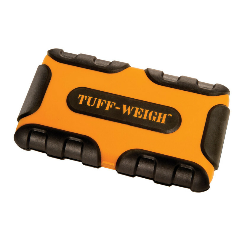 Tuff-Weigh-1000 Scale Orange/Black 1000 X 0,1Gr