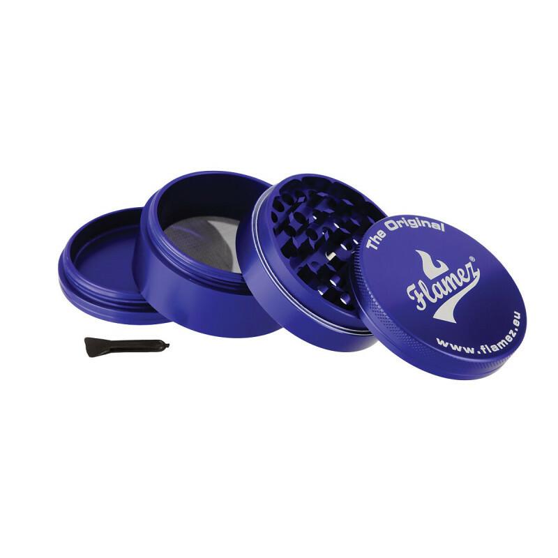 Flamez grinder 4 parts 63 mm blue