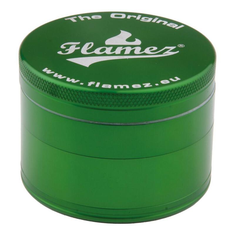Flamez grinder 4 parts 63 mm green