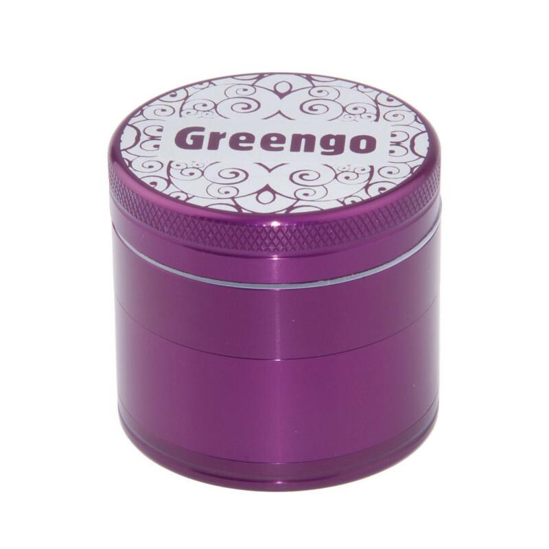 Greengo Grinder 4 Parts 50 Mm Purple