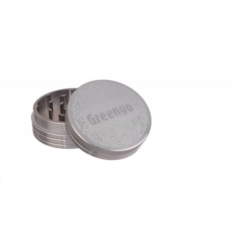 Greengo Grinder 2 Parts 50 Mm Grey