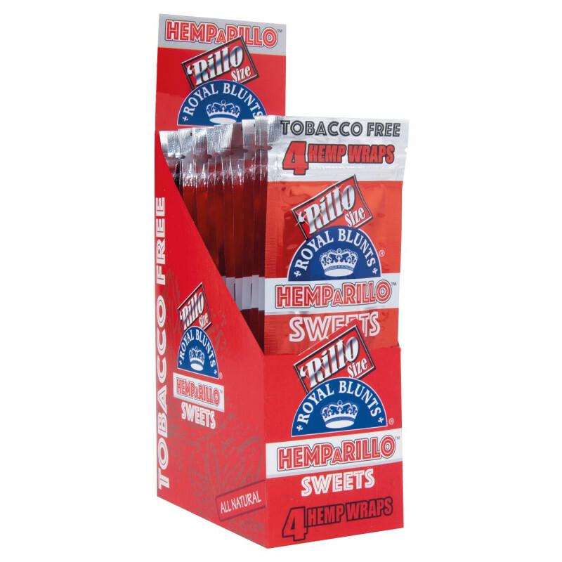Display Hemparillo Hemp Blunts Sweets 15X4 Pcs