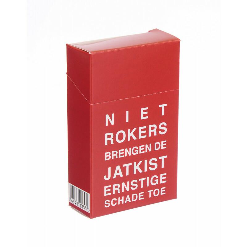 Cigarette Cover Niet Rokers Brengen De Jatkist Ernstige