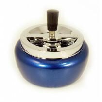 Angelo spinning ashtray light blue