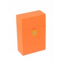 Clic Boxx Cigarette Box 20 Cig Fluorescent Design Orange