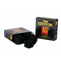Tom Cococha Charcoal Gold 25X25x25mm 9 Pcs