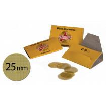Brass screens 25 mm 1x5 pcs
