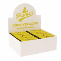 Flamez filter tip booklet yellow 50 pcs