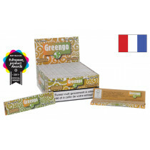 French Display Greengo Unbleached King Size Slim 50 Pcs