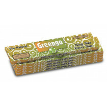 Greengo Unbleached King Size Extra Slim 5 Pack